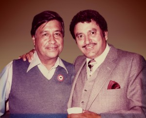 Vic Zavala (with Cesar Chavez on the left)