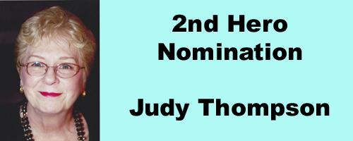 Hero Story 2 Judy Thompson button